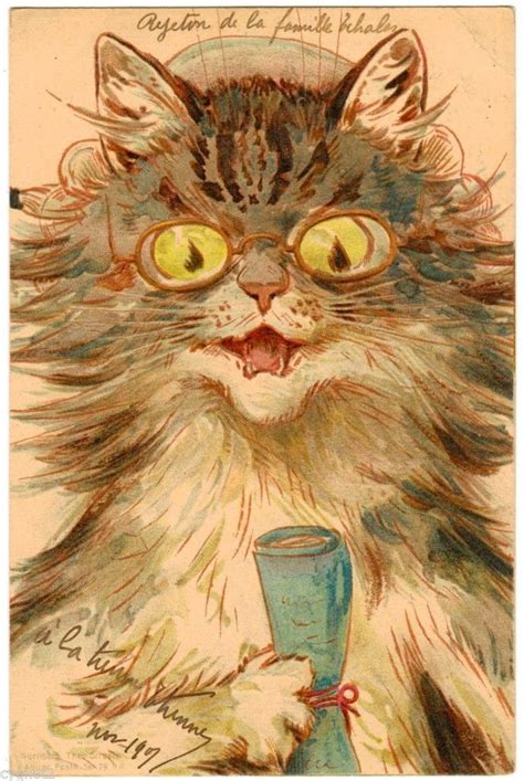 Cat Lb111 21 731 Original 731 best cats in louis wain at the great cat images on
