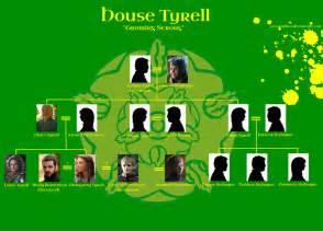 got house tyrell family tree season 5 by setsunapluto