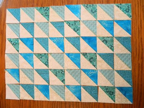 Half Square Triangle Quilt Layouts by I Make Stuff Variations On A Half Square Triangle Quilt