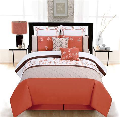 orange bed in a bag 18 best images about bedding on pinterest quilt sets