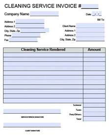 Cleaning Business Templates Cleaning Invoice Template Word Invoice Example