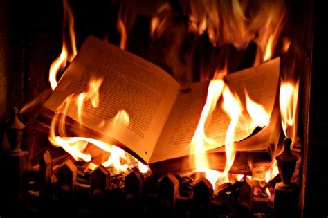 burned in books book burning blunderbuss magazine