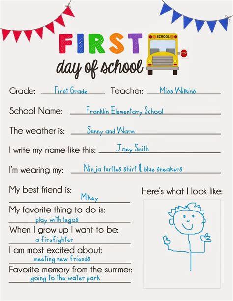 printable questionnaire school 33 best elementary school images on pinterest kid