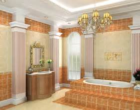 Pillar Designs For Home Interiors by Bathroom Interior Design Walls And Pillars 3d House