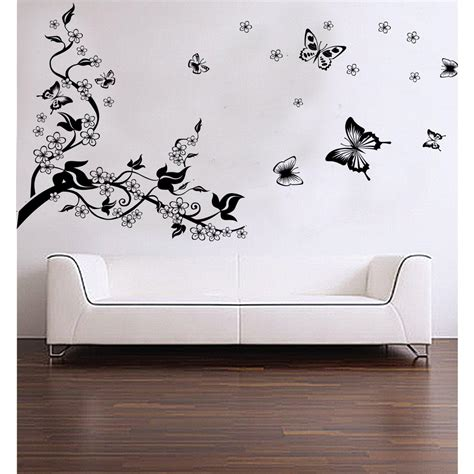 wall stickers wall decals ideas a replacement of wallpapers homes innovator