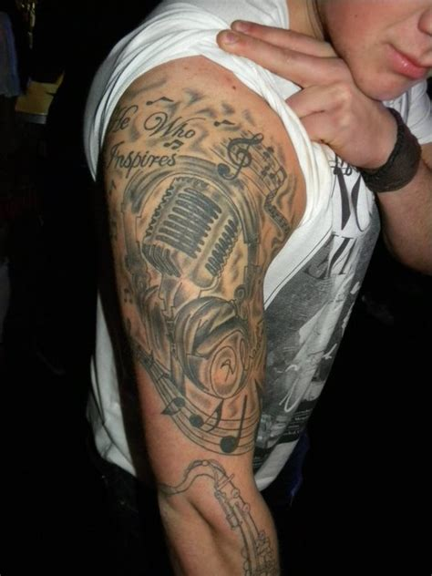 music half sleeve tattoo designs half sleeve designs 21 jpg 540 215 720 arm
