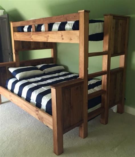 pallet loft bed best 25 pallet bunk beds ideas on pinterest bunk bed