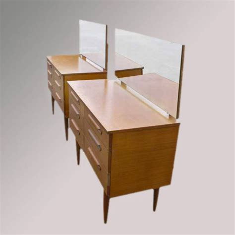 Table Vanity Mirror Vintage Wood Dressing Table Vanity Mirror Ebay
