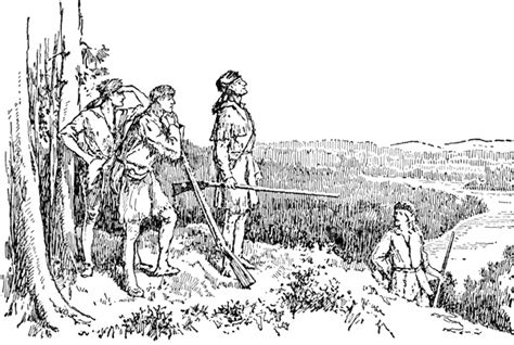Daniel Boone Coloring Pages Daniel Boone Coloring Pages