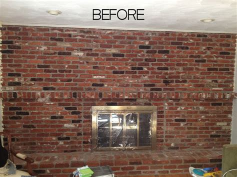 How To Paint An Old Brick Fireplace Hometalk Can You Paint Brick Fireplace