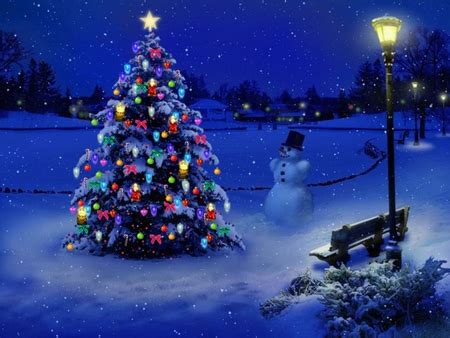 wallpaper christmas snow 3d blue christmas 3d and cg abstract background