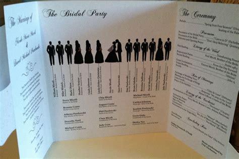 unique wedding program ideas diy 15 creative wedding program ideas bridalguide