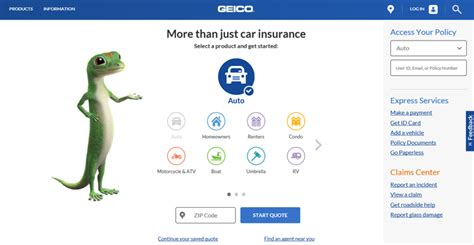 geico home insurance login home review