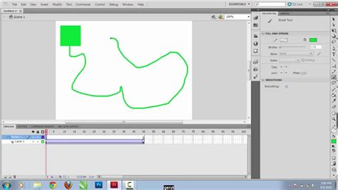 tutorial flash motion tutorial cara membuat motion guide dengan classic tween di
