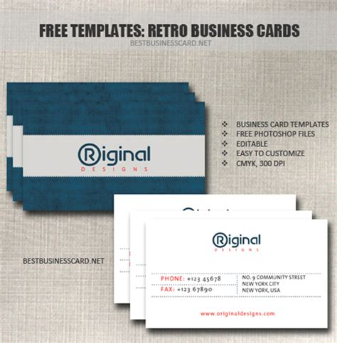 interior design business cards templates free 30 free psd business card templates