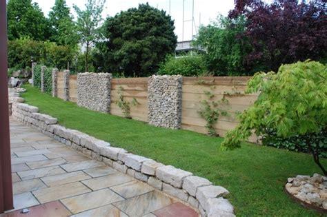 Vorschläge Gartengestaltung Kies by Sichtschutz Aus Stein Sichtschutz Holz Stein Efeu 2 Garten