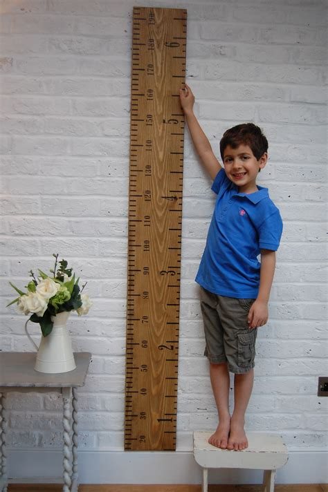 picture height original kids rule height chart non personalised