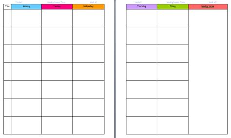 lesson planner template yo ms amos lesson planning