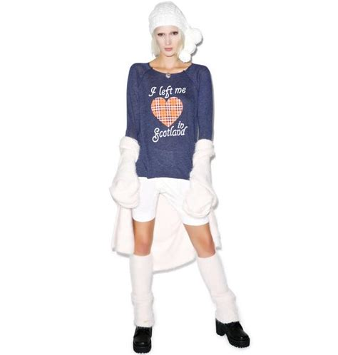 Why Me Raglan wildfox couture my scottish cozy raglan dolls kill