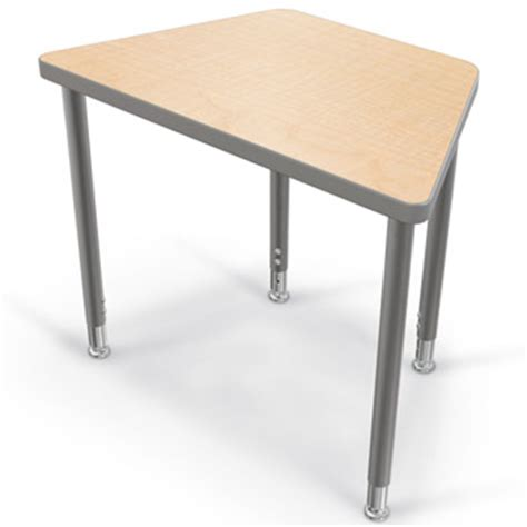 Trapezoid Desk by All Trapezoid Snap Desk By Balt Options Desks
