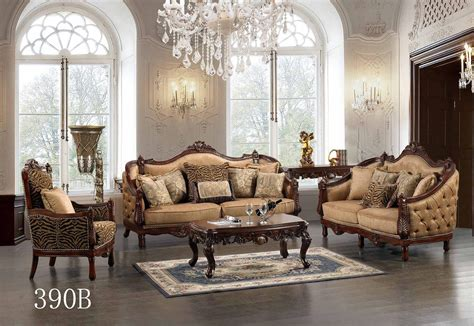 Living Room Chair Styles by Luxurious Traditional Style Formal Living Room Set Hd 390b