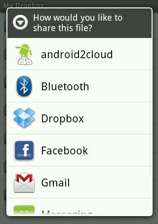 dropbox options dropbox android app review make tech easier