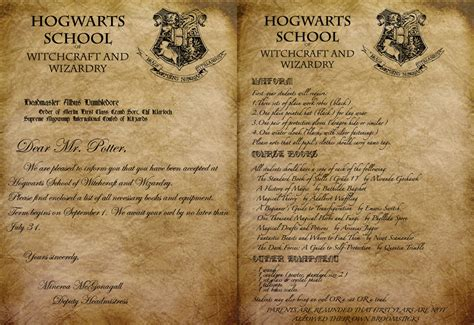 Hogwarts Acceptance Letter Script Stolen Destiny Of Storms And Magi Hp Ars Magica Page 22 Sufficient Velocity