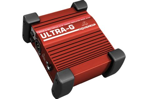 Behringer Ultra G Gi 100 Di Box behringer ultra g gi100 gi 100 gi 100 di box gitarowy z