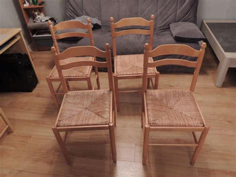 Lot Chaises Occasion lot chaises paille occasion clasf