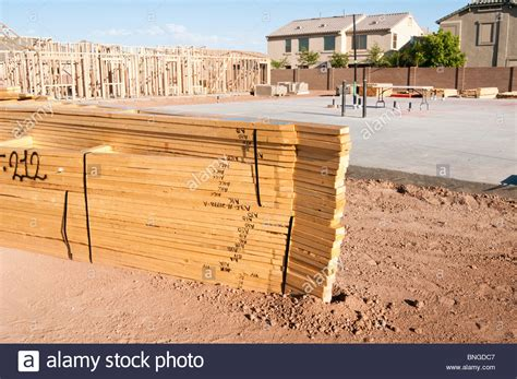 new house construction building stock photo image 63233514 building materials are stacked on the construction site