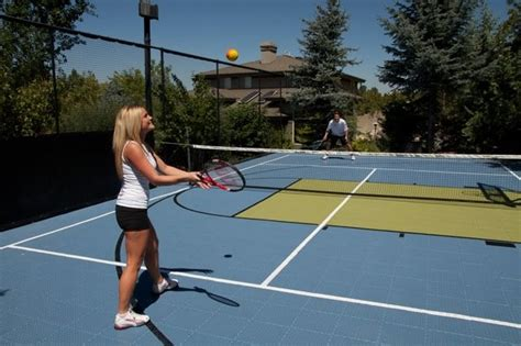 backyard sport backyard court and outdoor sport recreation area