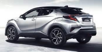 Toyota Suvs 2017 Toyota C Hr Production Suv S Interior Revealed