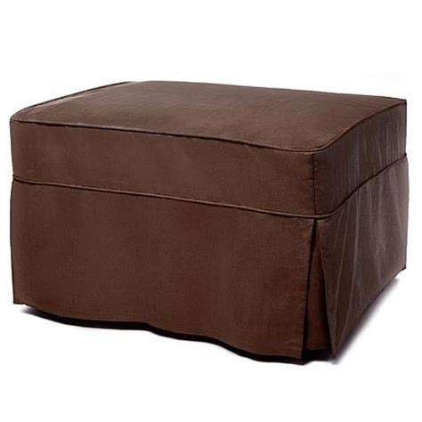 Single Ottoman Bed With Mattress Convertible Ottoman Bed With Single Mattress And Slip Cover Coffee 6941354 Hsn