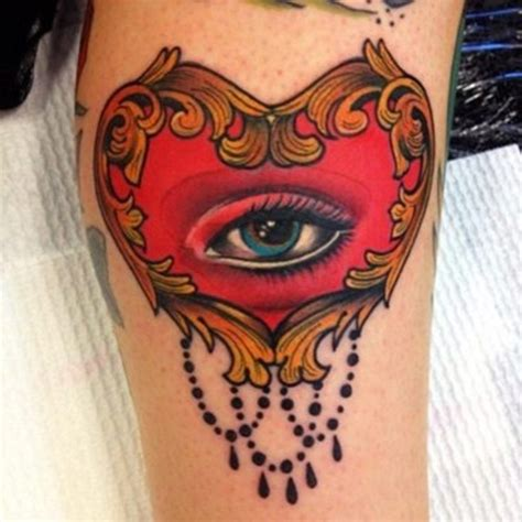 tattoo eye heart eye tattoos and designs page 79