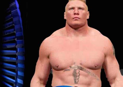 brock lesnar chest tattoo lesnar s chest goes flaccid kayfabe news