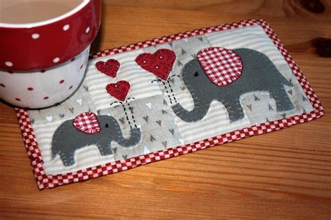 1000 images about mug rugs on fabric coasters