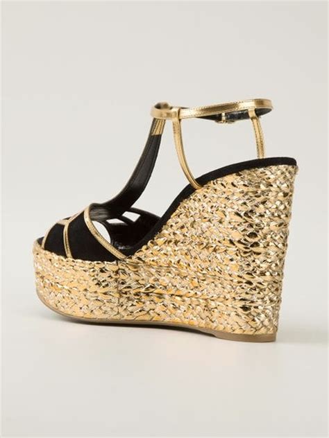 and rossi chagne gold strappy wedge sandals 28 images bamboo royce 02