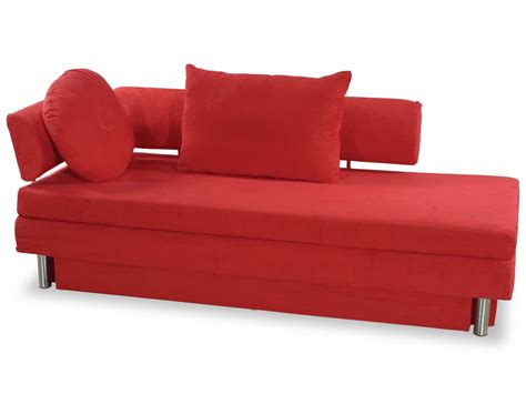 queen size sofa bed nubo red microfiber queen size sofa bed by at home usa