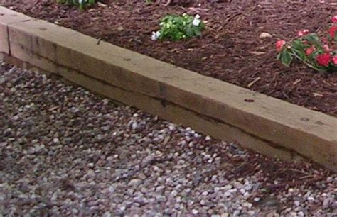 Timber Garden Edging Ideas Gravel Walkway Suggestion Timber Edging House Home Pinterest Landscapes