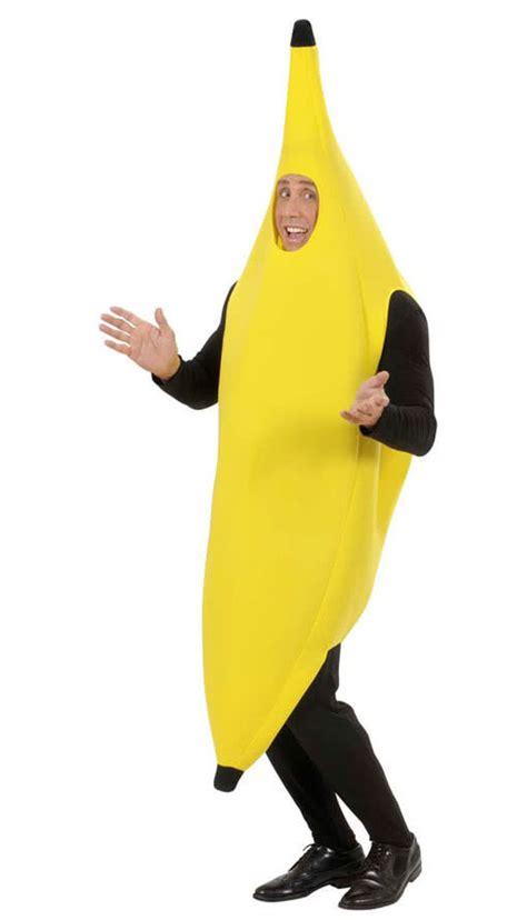 Banana Kostum By Melvie Shop gelbes bananen kost 252 m m lustiges bananen
