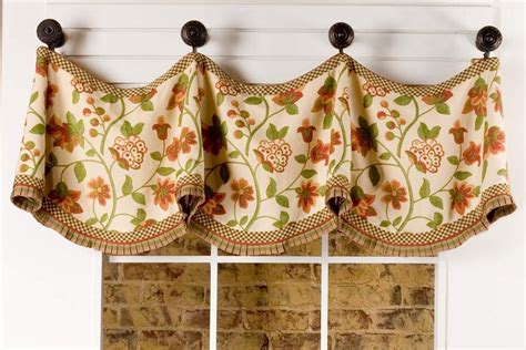 valance curtain patterns to sew claudine curtain valance sewing pattern pate meadows