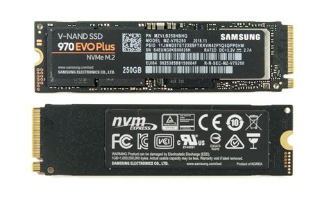 samsung 970 evo plus the samsung 970 evo plus 250gb 1tb nvme ssd review 96 layer 3d nand
