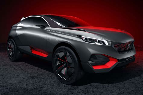 peugeot quartz side view peugeot quartz concept is a 500 hp hybrid beast motor