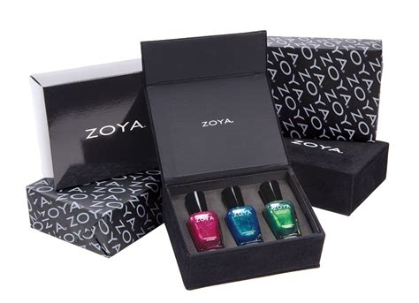 the color box zoya nail introduces the color box gift set just in