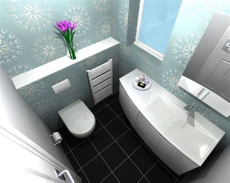 wc cloakroom design this compact installation included