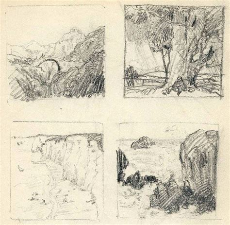 sketchbook landscape a sketchbook of the artist t f simon 1877 1942