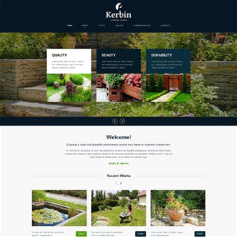 Landscape Design Website Templates Landscape Architecture Website Templates