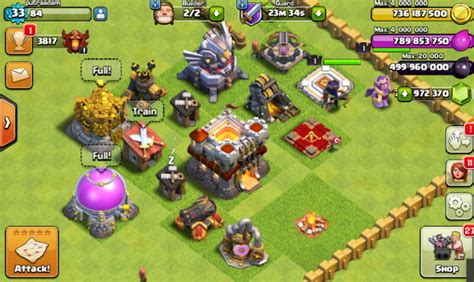 download game clash of clans mod apk terbaru android download clash of clans fhx v8 mod apk th 11 update