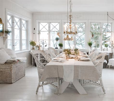Shabby Chic Dining Room Chairs Shabby Chic Interior Design And Ideas Inspirationseek