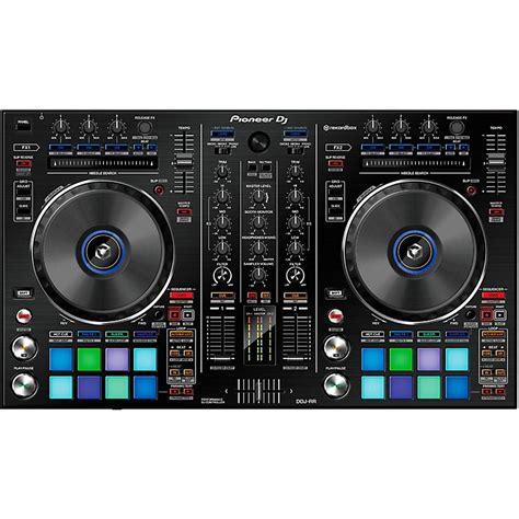 Pioneer Ddj Rx 4 Channel Rekordbox Dj Controller pioneer ddj rr professional 2 channel dj controller for rekordbox dj music123